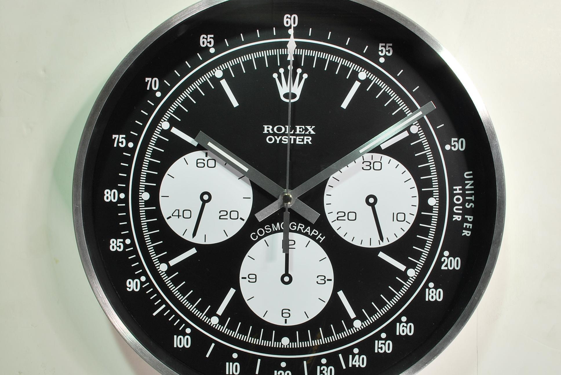 Daytona wall clock 6263 rolexdaytona62391 amipublicfo Gallery
